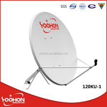 Steel plate 120cm offset dish antenna