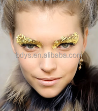 GOLD FACE PAINT BODY PAINTING Glitter Hair Gel