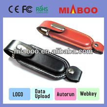 Leather USB Memory Drives,Leather Gif USB Flash Drive,leather Flash USB,USB stick with CE,ROHS,FCC authentication,accept Paypal