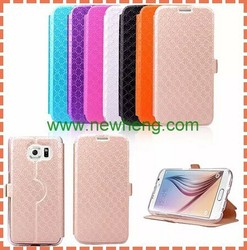 wallet Stand Ultra thin Flip Leather Case For Samsung Galaxy S6