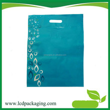 manufacture die cut plastic bags for clothes packing