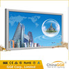 Large size aluminum LED picture frame fabric lightboxes / outdoor light box signs