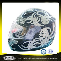 DOT FUSHI ABS custom full face motorcycle helmets motorcycle full face