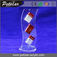 costumbre acrilicos exhibidores para el cigarrillo