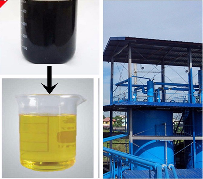 Best service waste engine oil recycling machine waste car for Motor oil recycling center