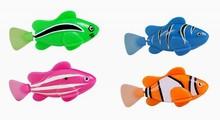 plastic electric BO swimming fish toy
