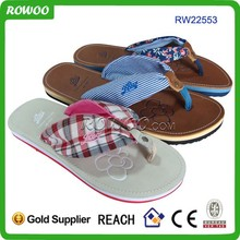 Hot selling women textile slipper for gifts and promotion with good quality fast delivery
