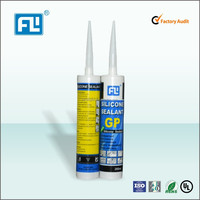 window glass acetic silicone sealant 300ml