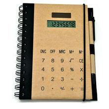 Idea Goods, Promotional Notebook Calculator with Pen