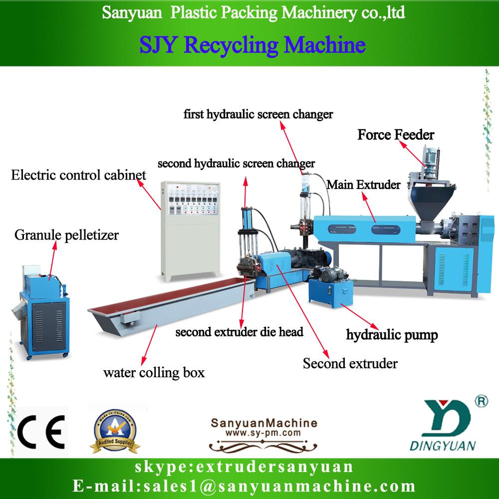 sjy granulat plstico lavadora de reciclaje de residuos de botellas de pet mquina de