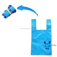 Cute folding trolley bag/shopping bag foldable bear
