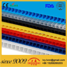 Durable Corrugated Plastic Decorative Wall Covering Panels