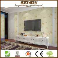 New design gold wallcovering paint wall paper vinyl coated wallcovering