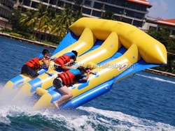 Banana Boat Towable Inflatable Water Toy Flying Fish for Adult