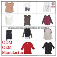 manera de las señoras fábrica de ropa en China