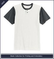 Custom 100 cotton button up baseball henley shirts wholesale