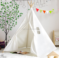 Factory sale wooden children kids play indian teepee tent kids teepee tent camping teepee hiking tent