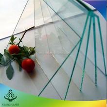 1.3 / 1.5 / 1.8 / 2.0 mm hoja de corte del vidrio con precio barato y alta calidad marco de fotos de vidrio