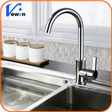 best sell one funtion Polished Kitchen mixer Kitcher water ware