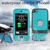 BRG Newest Colorful Silicon Waterproof Case for iPhone 6 Plus, for 5.5 inch Mobile Case