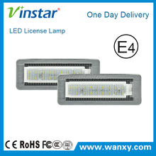 Vinstar auto lights Benzz Smart Fortwo LED license plate lamps