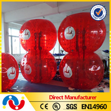 High quality cheap TPU inflatable toy/bubble soccer for sale