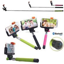 Selfie Stick Bluetooth Monopod Adjustable Handheld Monopod with Embedded Wireless Shutter Remote Control Wireless Monopod