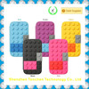 Alibaba express Silicone Block phone case for Samsung Galaxy S4