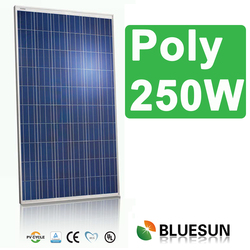 High efficiency 12v 250w solar panel for farm with certificate IEC/CE /ISO/UL