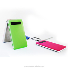 Rechargeable aa battery led power bank for macbook pro /ipad mini