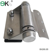 High Quality glass to round post hinge
