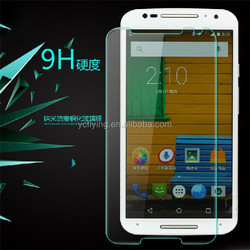 YC factory manufacturers tempered glass screen protector for Moto X XT1085 cell phone protector for moto x