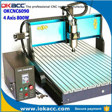 Hot sell 2015 new products stabile cnc 6090 router engraver drilling milling machine paypal accepted online stores