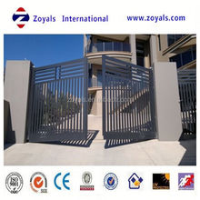 2015 The most popular gate: sliding gate design retractable fence gate