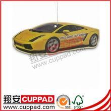 2015 hot sale custom made paper car air fresheners