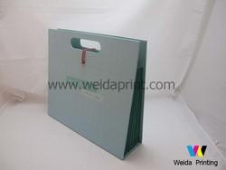 fashion creative handmade paper file folder