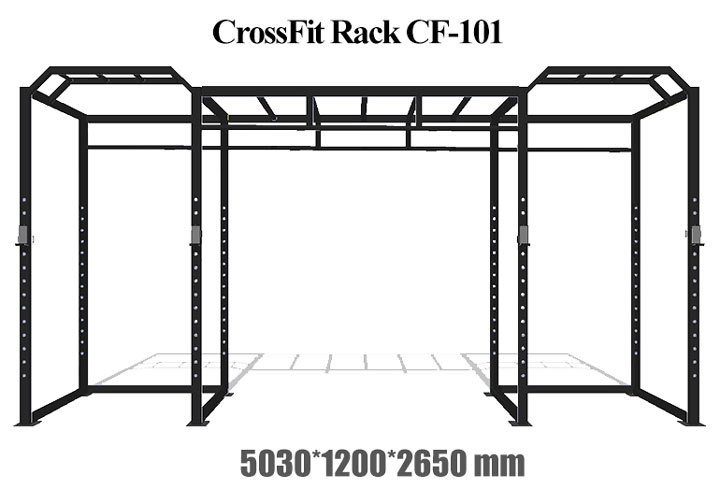 CF-101H-details-of-cross-noeven-bar-crossfit-high-low-tower_01