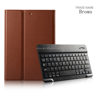 New Ultra Slim Case Build in 9.7 inch bluetooth keyboard with for ipad air