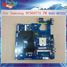 Heavy discount BA92-08725A laptop motherboard for Samsung NP305V7A mainboard with tested fully
