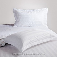 100% cotton new design hotel white bed sheet
