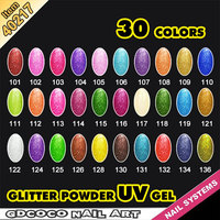#40217J weather protect non toxic gel ,camouflage glitter color uv gel,nail art gel