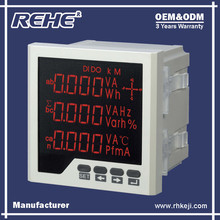 Free Sample Available RH-3D6 Digital Panel Three Phase Digital Multimeter with RS-485