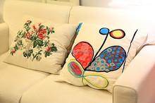 2015 HOT SALE digital printed sofa Cushion and Cushion cover