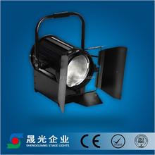 LED fresnel spotlight zoom studio theater light