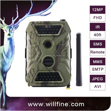 No glow night vision 940NM hunting camera 12MP 720P support SMTP GPRS MMS for security hunting