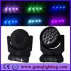 Professional Stage DJ Disco Party Club Beam Wash Lighting Equipment 19*12w high quality RGBW led Bee Eye Moving Head Light