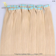 2014 new style hot sale top quality 100% remy 28 inch tape hair extension