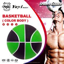 custom OEM color ruber basketball