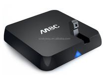 NEW 14.1 KODI tv box android 5MP webcamera M8C