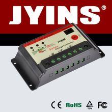 bottom price pwm 12v 10a solar controller